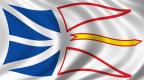 پرچم استان نیوفاندلند و لابرادور کانادا